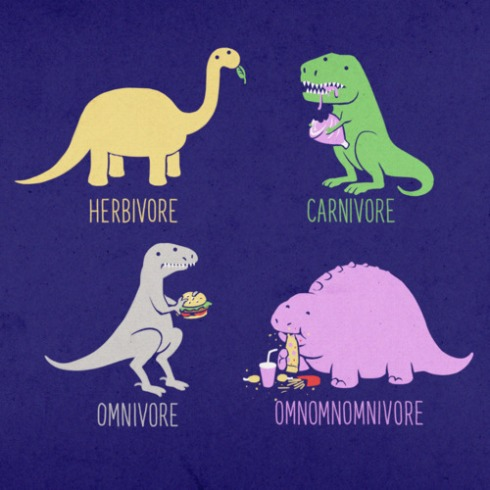 Image sourced from iwastesomuchtime.com. You will clearly be the fourth dinosaur in this scenario. (Well ... I am.)
